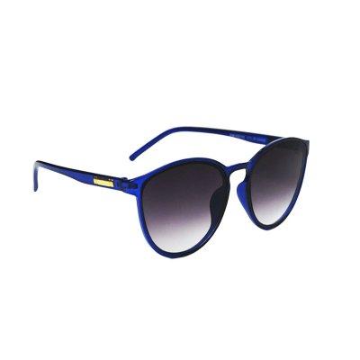 Dámske slnečné okuliare Gold Line Transparent Look Blue BLACK