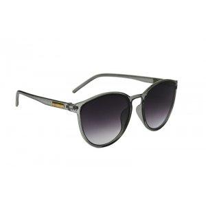 Dámske slnečné okuliare Gold Line Transparent Look Gray BLACK
