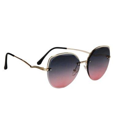Dámske slnečné okuliare Gold WAWE BLACK&RED