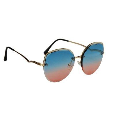 Dámske slnečné okuliare Gold WAWE BLUE&RED