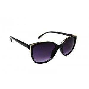 Dámske slnečné okuliare Golden Edges BLACK