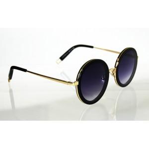 Dámske slnečné okuliare Hoop BLACK