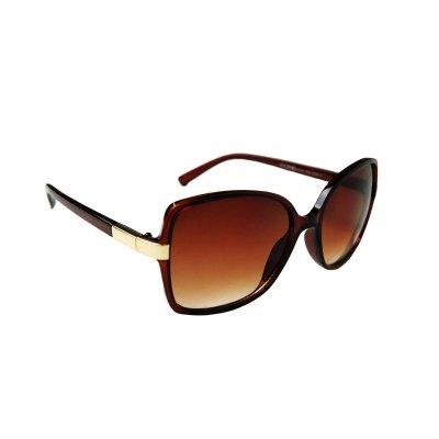 Dámske slnečné okuliare Inviting Gold Line BROWN