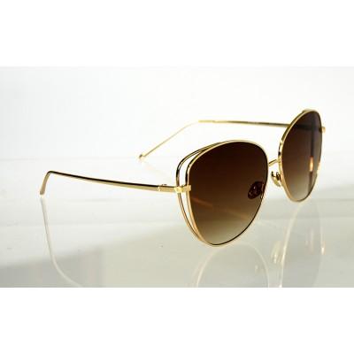 Dámske slnečné okuliare Lady Line BROWN