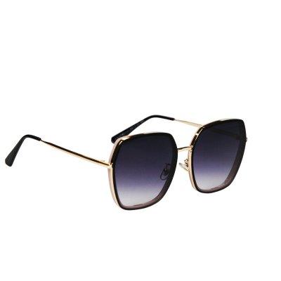 Dámske slnečné okuliare Luxury Gold Pink BLACK