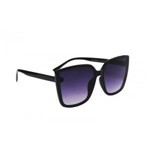 Dámske slnečné okuliare Modern Cat Look BLACK
