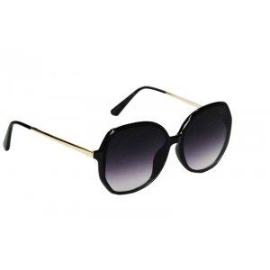 Dámske slnečné okuliare Nice Style Gold Line BLACK