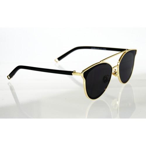 e20353b0a Dámske slnečné okuliare NOEMI LUXURY GOLD&BLACK