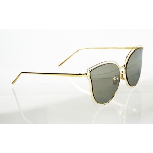 Dámske slnečné okuliare NOEMI LUXURY GOLD&WHITE
