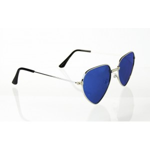 Dámske slnečné okuliare pilotky Hearts GOLD