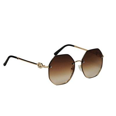 Dámske slnečné okuliare Rhombus Diamonds BROWN
