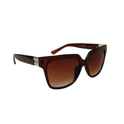 Dámske slnečné okuliare Set Diamonds BROWN