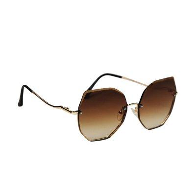 Dámske slnečné okuliare Sharp Edges BROWN