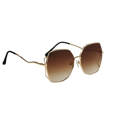 Dámske slnečné okuliare Side Frames Gold BROWN