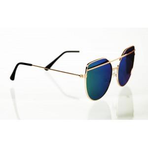 Dámske slnečné okuliare Straight Line GOLD&GREEN