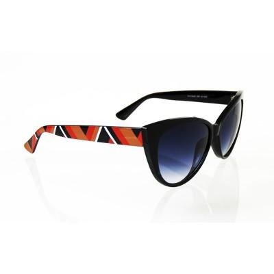 Dámske slnečné okuliare Victoria line color BLACK