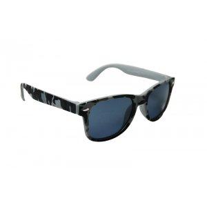 Detské polarizačné okuliare Wayfarer Army Gray BLACK