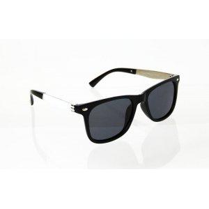 Detske polarizačné okuliare Wayfarer Metal BLACK&WHITE