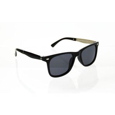 Detske polarizačné okuliare Wayfarer Metal BLACK