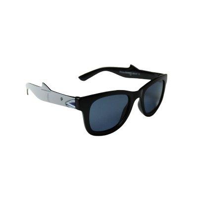Detské polarizačné okuliare Wayfarer Shark Gray BLACK