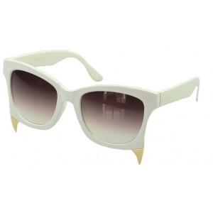 Dámske slnečné okuliare Dragon biele