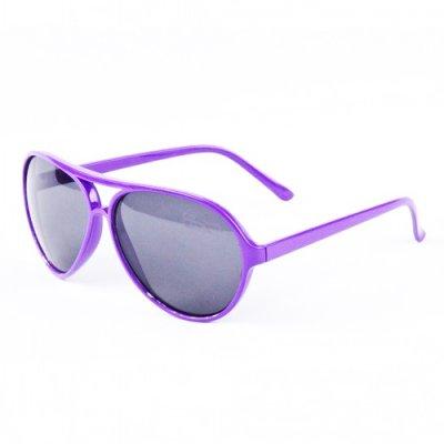 Okuliare - AVIATOR fialové