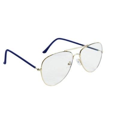 Okuliare na počítač Blue Light Classic Pilot  blue GOLD
