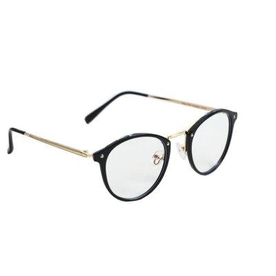 Okuliare na počítač Blue Light Gold Detail BLACK