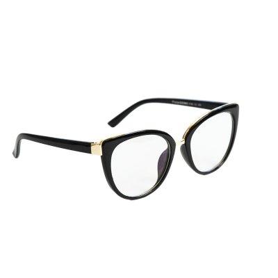 Okuliare na počítač Blue Light Gold Fine Line BLACK