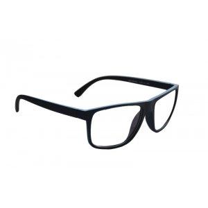 Okuliare na počítač Blue Light Modern Nice Wayfarer Style BLACK - matné