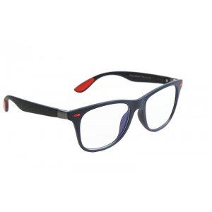 Okuliare na počítač Blue Light Wayfarer Modern BLUE&RED - matné