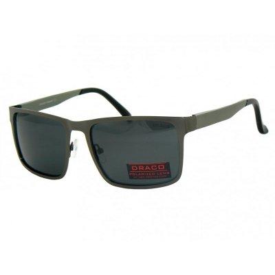 Pánske polarizačné okuliare Aluminium BLACK