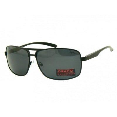 Pánske polarizačné okuliare Aluminium CLEVER BLACK