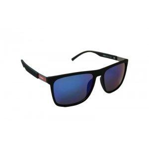 Pánske slnečné okuliare Red Line DEEP Black BLUE matné