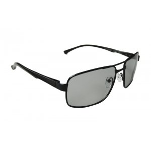 Polarizačné fotochromatické okuliare Classic Alu Man Black