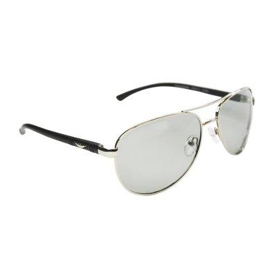 Polarizačné fotochromatické okuliare Pilotky Wings Silver