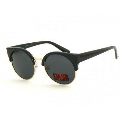 Polarizačné okuliare Clubmaster Black