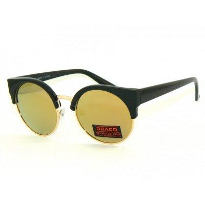 Polarizačné okuliare Clubmaster Black&Gold