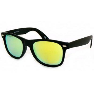 Polarizačné okuliare Wayfarer Black&NewGold