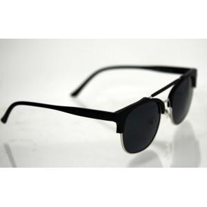 Dámske polarizačné okuliare Clubmaster Black