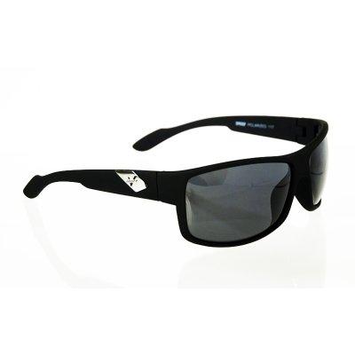 Športové polarizačné okuliare Master Black matné
