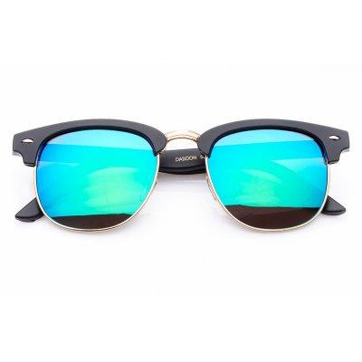Polarizačné okuliare Clubmaster Blue - Green