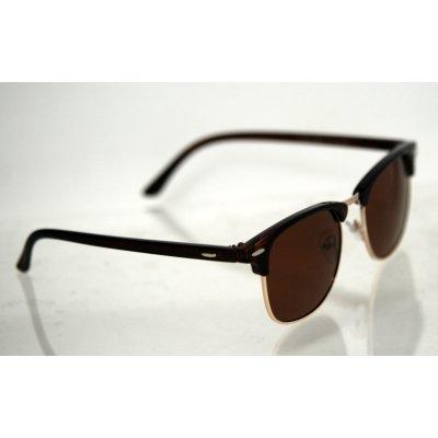 Polarizačné okuliare Clubmaster Black brown