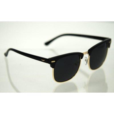 Polarizačné okuliare Clubmaster Black gold