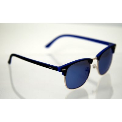 Polarizačné okuliare Clubmaster color blue