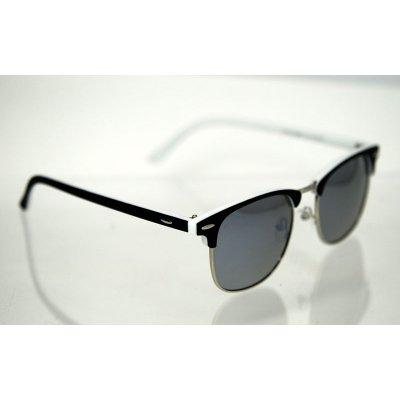 Polarizačné okuliare Clubmaster color silver