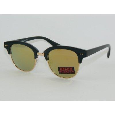 Polarizačné okuliare Clubmaster LA GOLD