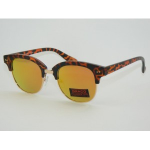 Polarizačné okuliare Clubmaster Tiger LA GOLD