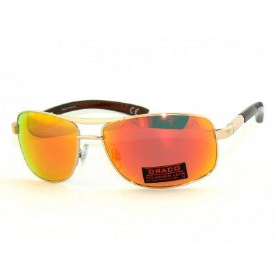 Polarizačné okuliare metal Luxury Style GOLD