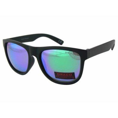 Polarizačné okuliare modern Wayfarer BLUE&GREEN